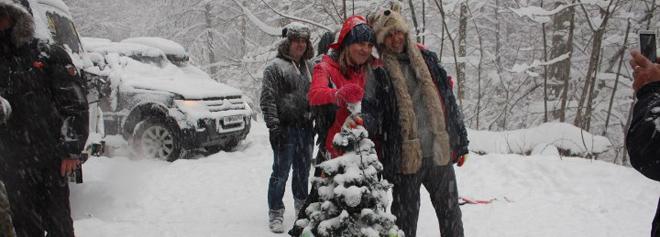 Итоги: Новый Год от «Джиперов Сочи». Абхазия